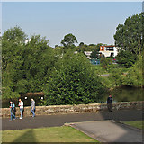 SO8454 : Worcester: over the Severn to New Road by John Sutton