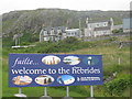 NL6698 : A welcome to the Outer Hebrides by M J Richardson