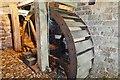 NY6128 : Acorn Bank Mill - Pitchback wheel by Ashley Dace