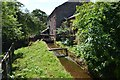 NY5636 : Village Watermill - Leat by Ashley Dace