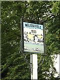 TL1614 : Melissa Field sign by Adrian Cable