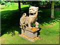 TF6928 : Oriental Lion at Sandringham by David Dixon