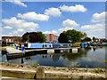 SJ9098 : Boats at Droylsden Marina by Gerald England