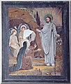 TL8392 : Resurrection painting, West Tofts church by Charles Greenhough