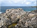 L5746 : Rocky headland by Jonathan Wilkins