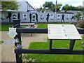 C2221 : Garden area, Ramelton by Kenneth  Allen