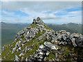 NH0314 : Summit of Sgùrr a' Bhealaich Dheirg by John Allan