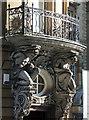 NZ2463 : Detail of Sun Insurance Building, Collingwood Street, Newcastle (1) by Stephen Richards