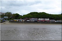 TA1280 : Fast food, shops and amusements at Coble Landing, Filey by David Smith