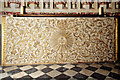 TL8392 : Altar frontal, West Tofts church by Charles Greenhough