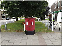 TL1314 : High Street Twin Postbox by Adrian Cable