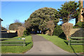 TV4998 : Drive to Chyngton Place, off Chyngton Road, Seaford by Robin Stott