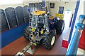 TG1543 : Lifeboat tractor by John Salmon