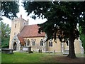 TL9332 : St Andrew's church, Wormingford by Bikeboy