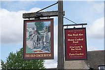 TF1309 : The Old Coach house sign by Bob Harvey