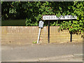TL1314 : Overstone Road sign by Adrian Cable
