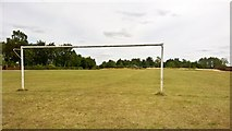 SK6790 : Mattersey Football Club play here by Chris Morgan