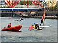SJ8097 : Watersports at the Huron Basin, Salford Quays by David Dixon