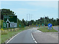 TF7810 : Eastbound A47 Approaching the Swaffham Bypass by David Dixon