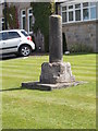 SE3740 : Remains of Stone Cross - Butts Garth by Betty Longbottom