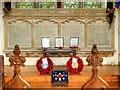 TF8208 : War Memorial in Swaffham Parish Church by David Dixon