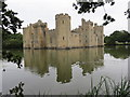 TQ7825 : Bodiam  Castle  from  the  southeast by Martin Dawes