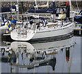 J5082 : Yacht 'Loupan' at Bangor by Rossographer