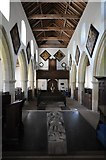 TF7928 : Interior of Houghton church by Philip Halling