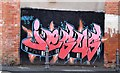 J3573 : Religious graffiti, Belfast (August 2015) by Albert Bridge
