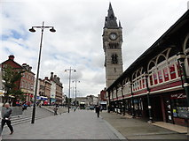 NZ2814 : Clock Tower, Darlington by Robert Graham