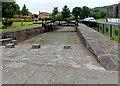 SO0406 : Iron bridge opposite Chapel Row,  Merthyr Tydfil by Jaggery
