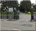 SO0407 : SE entrance to Cyfarthfa Park, Merthyr Tydfil by Jaggery