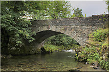 NY3204 : Bridge at Elterwater Village by Chris Heaton