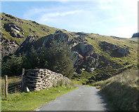 SH9124 : Sharp bend at Craig yr Ogof by John Firth