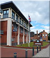 SK2523 : Burton upon Trent Police Station on Horninglow Street by Mat Fascione