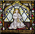SK9770 : Stained glass window, St Mary le Wigford, Lincoln by Julian P Guffogg