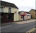 SN5601 : Zilani's Indian takeaway and Llangennech Fish & Chips, Llangennech by Jaggery