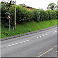 SN5501 : Elderly people sign alongside Hendre Road, Llangennech by Jaggery