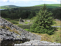 SN0729 : View west from Rosebush Quarry by Gareth James