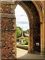 TF6219 : War Memorial Through Greyfriars Arch by David Dixon