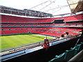 TQ1985 : FA Cup replica - Wembley by Paul Gillett
