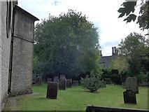 SK2375 : St Martin, Stoney Middleton: churchyard (C) by Basher Eyre