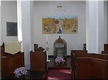 SK2375 : Inside St Martin, Stoney Middleton (iv) by Basher Eyre