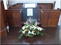 SK2375 : Inside St Martin, Stoney Middleton (vii) by Basher Eyre