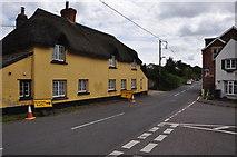 SX9896 : Broadclyst : Road by Lewis Clarke
