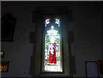 SK2572 : St Anne, Baslow: stained glass window (II) by Basher Eyre
