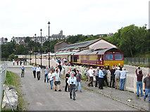 ST1167 : Railtour at Barry by Gareth James