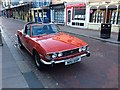 TQ7468 : Vintage 1976 Triumph Stag, High Street, Rochester by Chris Whippet