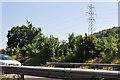 ST3756 : North Somerset : The M5 Motorway by Lewis Clarke