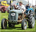SO6286 : Ferguson 35 tractor by Richard Law